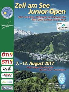 Beginn Zell am See Junior Open 2017